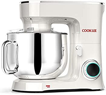 Cooklee 9.5 Qt. 660W 10-Speed Electric Kitchen Mixer