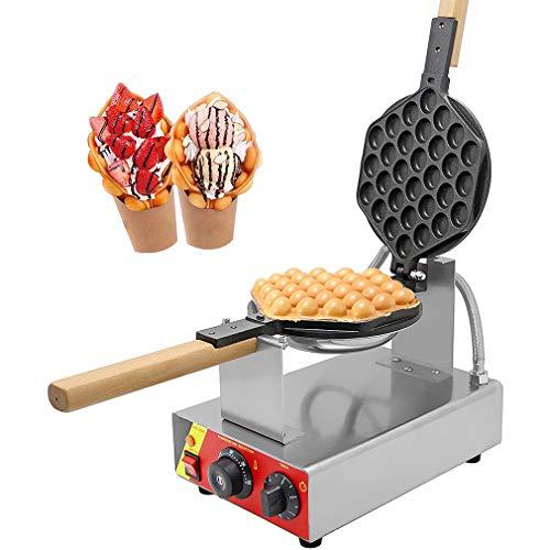 WWXXCC Gewerbliche elektrische eggettes Egg Waffeleisen-Hersteller Non-Stick Elektrische Eggettes Blase Waffeleisen Eisen-Maschine Baker 220V CE-Zertifizierung