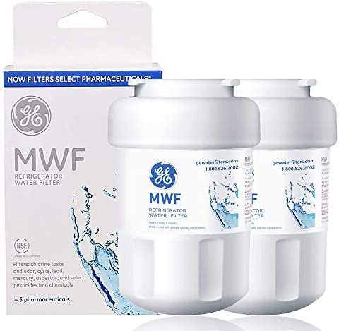 MWF Refrigerator Water Filter Replacement for GE Refrigerator Smartwater Compatible with GE product image