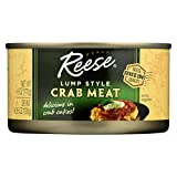 Reese Lump Style Crabmeat, 6 Ounce - 12 per case.