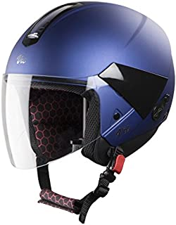 Steelbird SBH-5 VIC Female Glossy Y. Blue with Plain Visor,540 mm