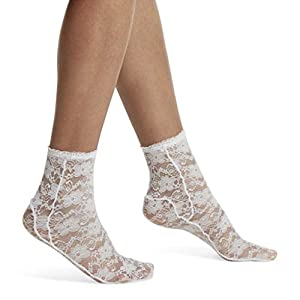 Soft, stretchy lace socks give any outfit an effortless edge These anklets are a stylish addition to high heels, flats, and even sandals Lace patterns are classic never boring Both stylish and useful, these socks help protect your feet from blisters ...