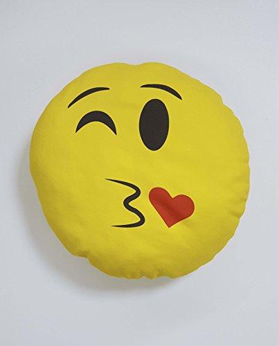 My Custom Style cuscino fatto a mano microfibra #Smile-Bacio# 38cm