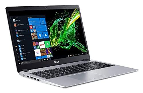 Acer Aspire 5 15.6 Inch FHD Slim Laptop, AMD Ryzen 3 3200U,Vega 3 Graphics, 4GB DDR4, 128GB SSD, American English QWERTY Backlit Keyboard