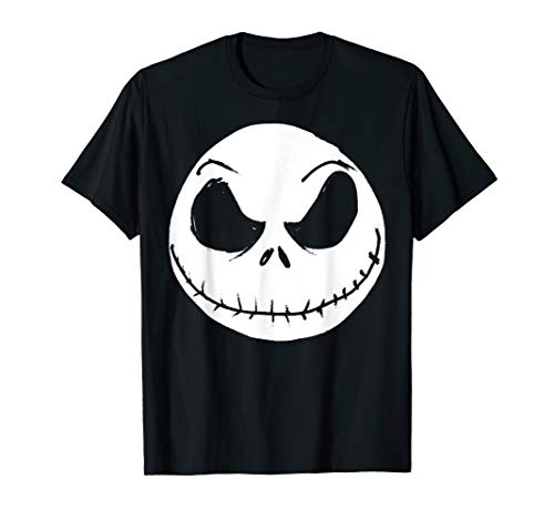 Disney The Nightmare Before Christmas Jack Skellington Face T-Shirt