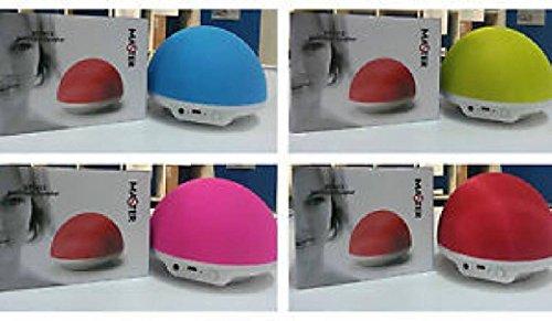 Altoprarlante SPEAKER BLUETOOTH + AUX-poort + Micro USB + Portable + MET laadapparaat + inclusief batterij - KLEUR CELESTE - MASTER