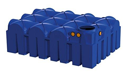 Rewatec Hausanlage Diver F-Line Flachtank 7500 Liter