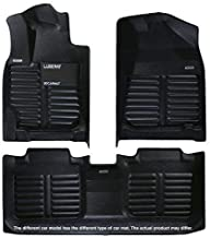 Luxemat Custom All Weather 5D Car Mat for 2016-19 Lexus RX (Black, PU Leather Material)   Anti-Slip Auto Flooring   Waterproof & Dirt Proof   Easy to Clean