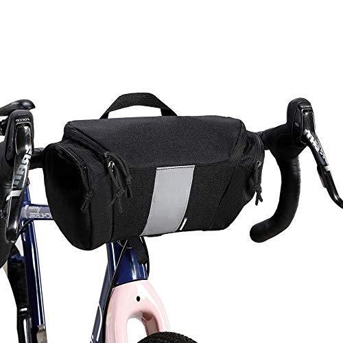 Outdoor Reflective Basket Rack Bike Cycling Bags Bicycle Handlebar Bag Tube Bag