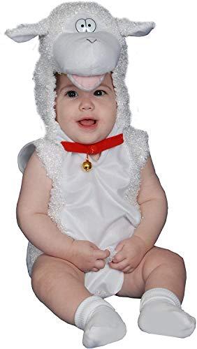 Dress Up America- Costume de caneton en Peluche bébé Déguisement, 364-0-6, comme la présentation, Taille 0-6 Mois (Poids: 3,5-7 kg, Hauteur: 43-61 cm)