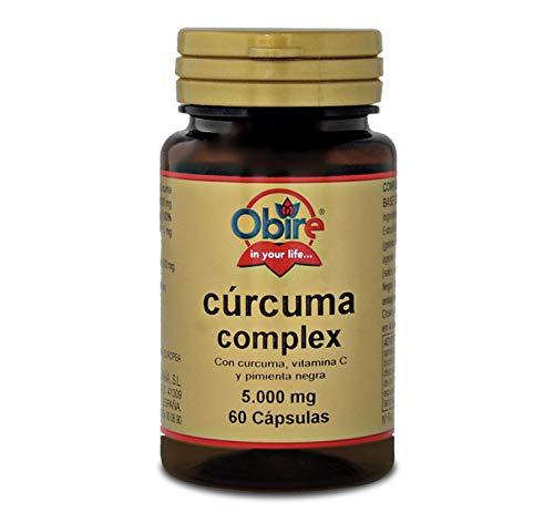 Curcuma 5000 mg. (95% curcumina) + vit. C + pepe nero. 60 capsule