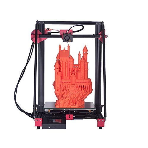 Rabusion Hot for Fast Assembly Large-size 3D Printers High Accuracy Double Z Axis Automatic Frame Leveling EU Plug