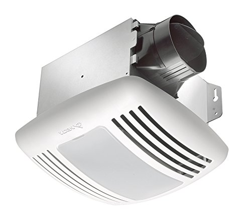 Delta BreezGreenBuilder GBR80HL 80 CFM Exhaust Bath Fan/CFL Light,...