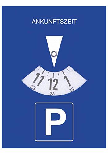 carstyling XXL Parkscheibe selbsthaftend ~ schneller Versand innerhalb 24 Stunden ~