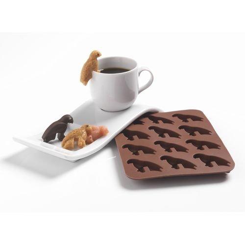 patisse 19387 Lot de 2 Moules Café des Pirates Platine Chocolat 17 x 12 cm