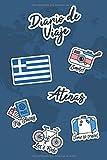Diario de Viaje Atenas: Diario de Viaje   106 páginas, 15.24 cm x 22.86 cm   Para acompañarle durante su estancia.