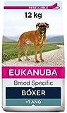 EUKANUBA Breed Specific Alimento seco para perros bóxer adultos, alimento para perros óptimamente adaptado a la raza 12 kg