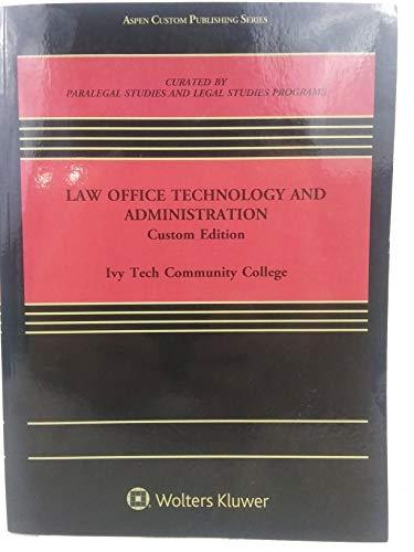 Law Office Technology & Admin-Custom Ed ITCC