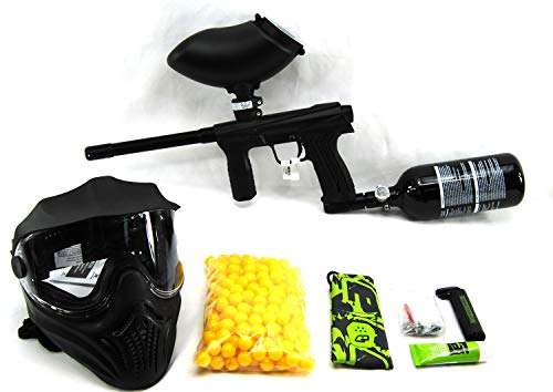 Planet Eclipse Emek 100 Package with 48/3000 HPA Tank, 200 Rd Hopper, Mask & 200 Paintballs