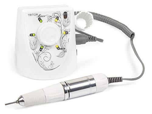 TRITOR Nagelfräser MINOR - Elektrische Nagel-Feile für Gel-Nägel - Fräser - Maniküre - Pediküre
