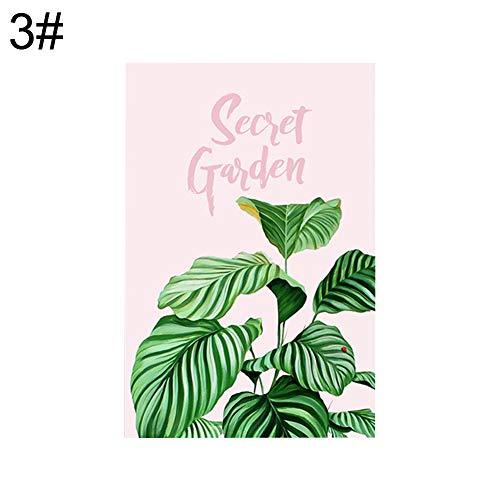 dljztrade canvas schilderij Nordic Tropical Green Leaves afbeelding poster DIY muur kantoor woonkamer decor 40 * 50 cm 3#