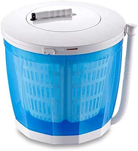 Tragbare Öko-Waschmaschine Mini-Waschmaschine Handbuch Handkurbel Nicht-elektrische Waschmaschine und Spinning-Spülen und Spin für Camping-Apartments