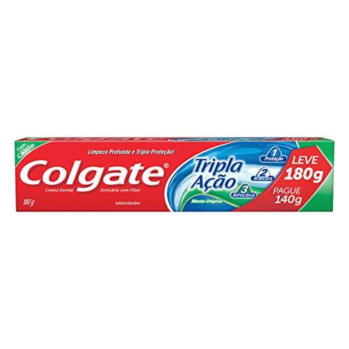 Creme Dental Colgate Tripla Ação Menta Original 180G