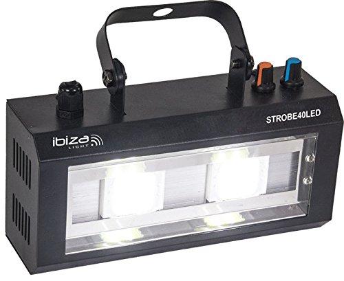 Ibiza Strobe40Led - Estroboscopio LED
