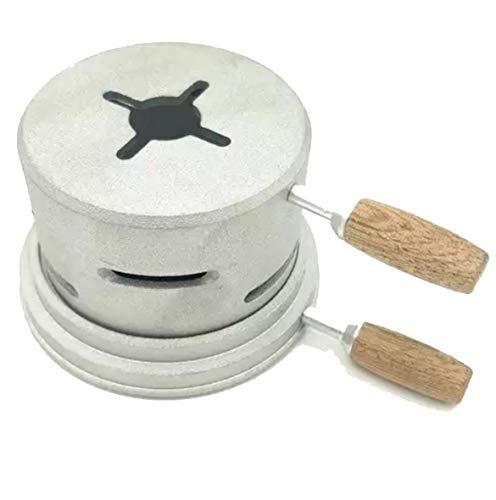 Gestor de calor cachimba -Shisha Hookah - Acero inoxidable para carbones - Accesorio cachimba - Compatible con todas las cazoletas pequeñas