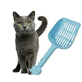 KAIKUN Cat Litter Scoop Shovel Cat Litter Scoop Pooper Scooper Cats Cat Litter Shovel Litter Tray Scoop Poop Scoop Cat Litter Cat Litter Scoop With Stand