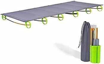 YaeKoo Outdoor Super Ultralight& Portable Folding Aluminium alloy Cot Camping Tent Bed