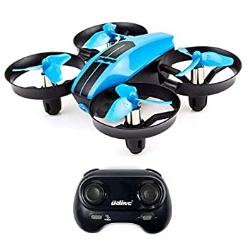UDI U46 Mini Drone for Kids 2.4Ghz RC Drones with Auto Hovering Headless Mode Nano Quadcopter Blue