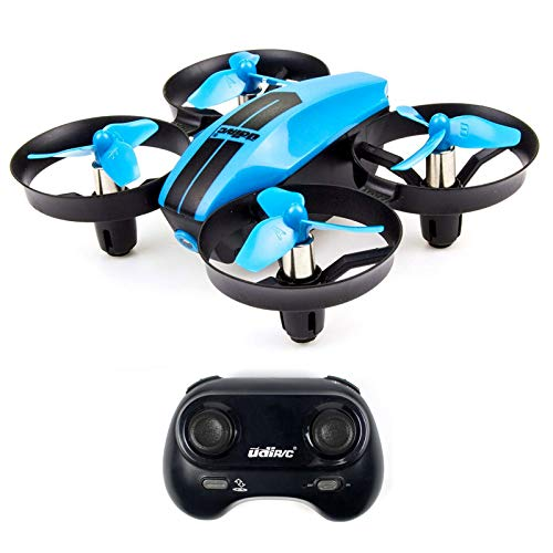 UDI U46 Mini Drone for Kids 2.4Ghz RC Drones with Auto Hovering Headless Mode Nano Quadcopter, Blue