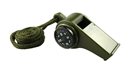 SE 3-in-1 Green Compass Whistle - CCH3-1