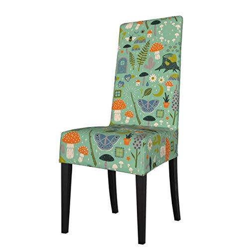 LESIF Fundas elásticas para silla de comedor, funda protectora para silla de jardín, extraíble, lavable, suave, para cocina, hogar, restaurante