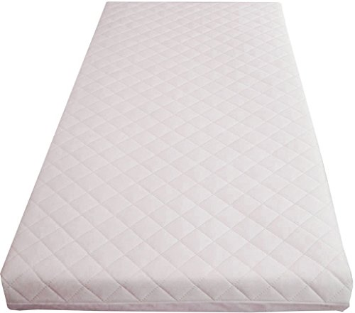 Luxury Baby Cot Mattress Toddler Bed Foam Quilted All Sizes (120X60X5cm)
