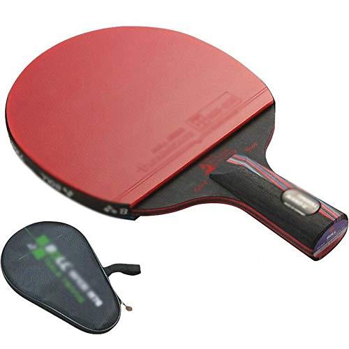 Lowest Price! KDKDA Ping Pong Paddle 1 Pack Premium Table Tennis Racket Set 1pcs Racquet Bag and 2Pr...