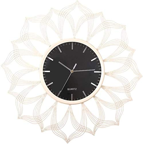 Reloj de pared para sala de estar, tamaño grande, reloj de pared creativo para dormitorio, reloj de pared decorativo, reloj silencioso redondo para dormitorio, comedor, estudio