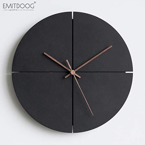 DHR Modern & Fashion Mute Wall Clock, Cross Concrete Series...