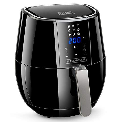 Black+Decker BXAF3500E - Digitale Heißluftfritteuse 1500W,...
