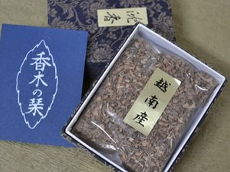 ボイコット掃く額香木 お焼香 ベトナム産 沈香 【最高級品】 18g