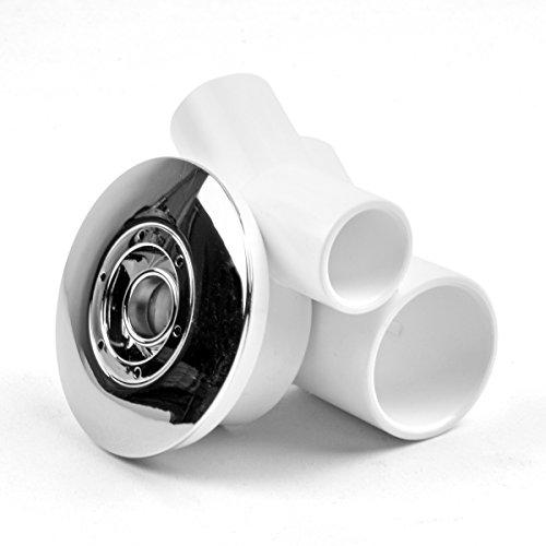 AQUADE Jet Düse Wasserdüse für Whirlpool Jacuzzi Durchmesser: 65mm / ABS verchromt
