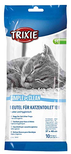 Trixie 4043 Simple'n'Clean Katzentoilettenbeutel, M, 10 St.