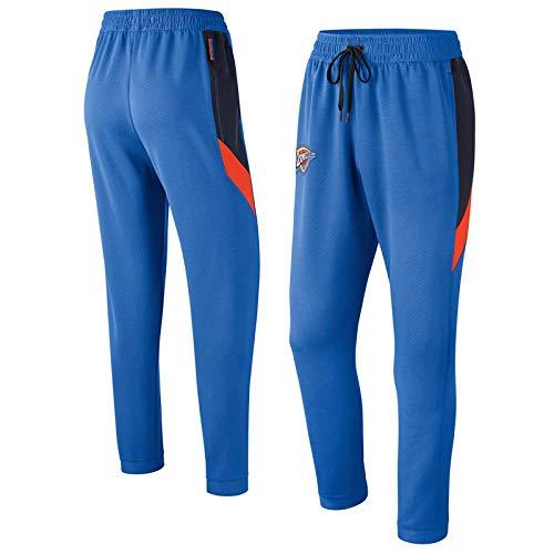 Hombres Pantalones de baloncesto NBA Los Angeles Lakers Miami Heat Houston Rockets Oklahoma City Thunder Pantalones de entrenamiento Pantalones de pies sueltos casuales para hombres Pantalones depor