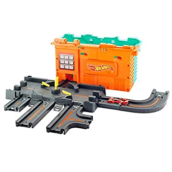 Hot Wheels City Town Center Play Set Gift Idea for Ages 4 to 8 Years Multicolor