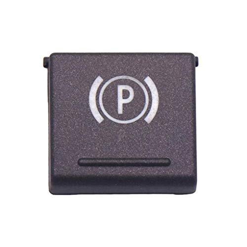 Fornateu Feststellbremse Handbremse Button Switch-Abdeckung Ersatz für Serie 7 E66 E65 2004-2008