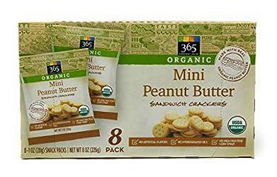365 Everyday Value, Mini Peanut Butter Sandwich Crackers, 8 ct