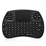 TICTID 2.4GHz Mini Teclado inalámbrico Touchpad ratón Compatible con Raspberry Pi Android Box,Google Box,Pad PC Smart TV Control Remoto