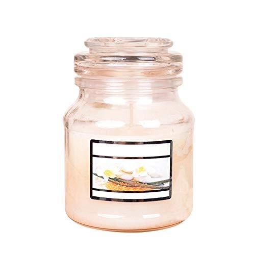 Niumen Vela aromática de aromaterapia, juego de regalo transparente, sin humo, hecha a mano, cera de soja, natural orgánica, velas de cera de soja, para alivio del estrés y relajación de aromaterapia