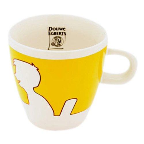 Douwe Egberts Design People, Kaffee Becher, Tee Tasse, Porzellan, Gelb, 260 ml